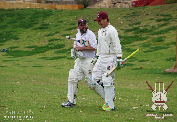 Brad Hogg blasts the bowlers at Fiona Harris memorial match 2016